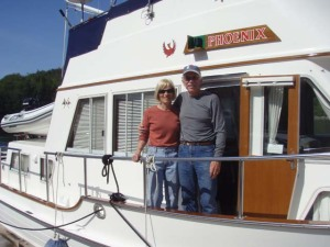 Alice and Jim aboard Phoenix