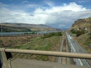 Columbia River Gorge looking east