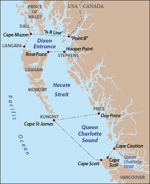 Cape Caution-Hecate Strait-DixonEntrance
