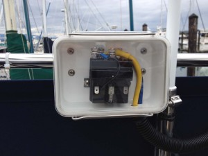 solenoid for superwinch - closeup view
