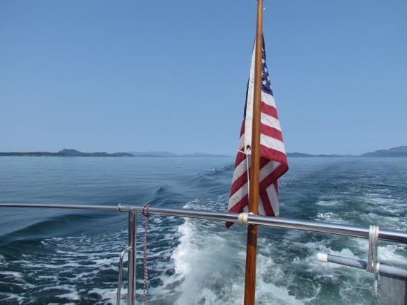 Boundary Pass Gulf Islands
