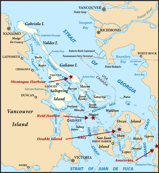 gay cruise areas in washington state