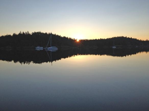 Reid Harbor Sunrise July 5