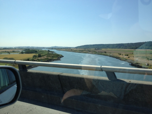 swinomish channel from wa state route 20
