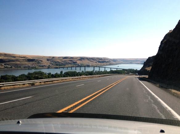 Columbia River Gorge at Biggs Junction