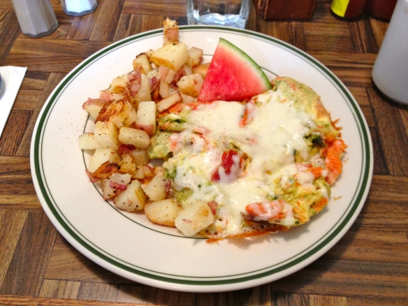 Mary Ann's Smoked Salmon Scramble