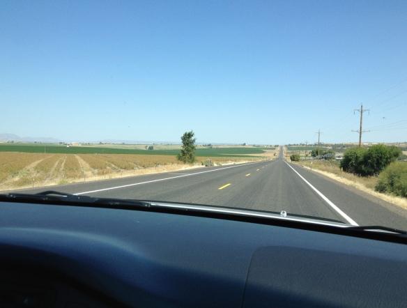 highway 97 nearing Madras