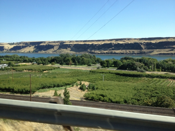 Maryhill Winery on the Columbia River Gorge