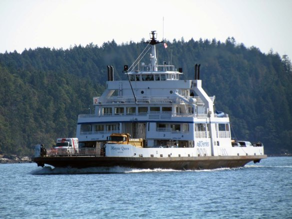 BC ferry Mayne Queen