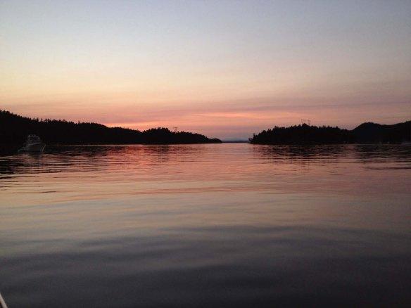 montague sunset