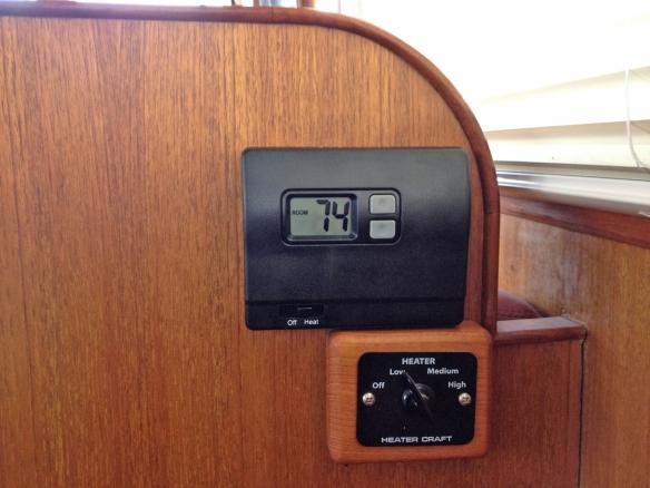 new webasto thermostat