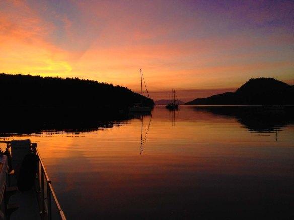port browning sunrise