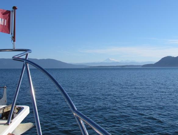 Mt. Baker from Rosario Strait
