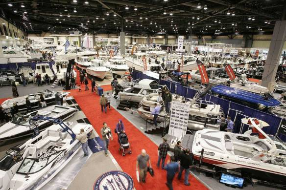 Inside Seattle Boat Show