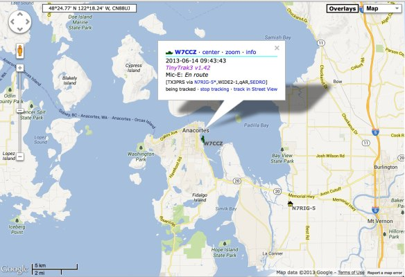 aprs website display