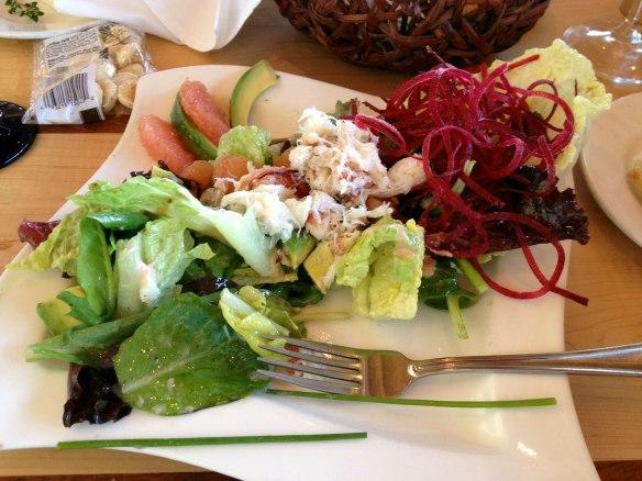 Crab Salad at Anthonys