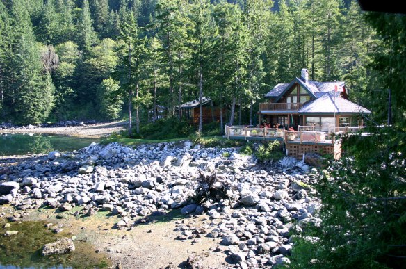 dent island cabins