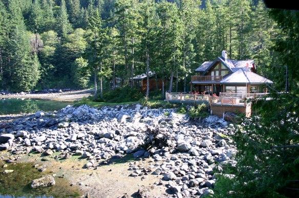 dent island cabins
