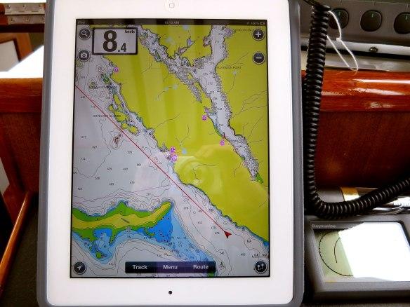 iPad for navigation