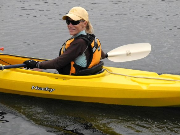 alice kayaking squirrel cove