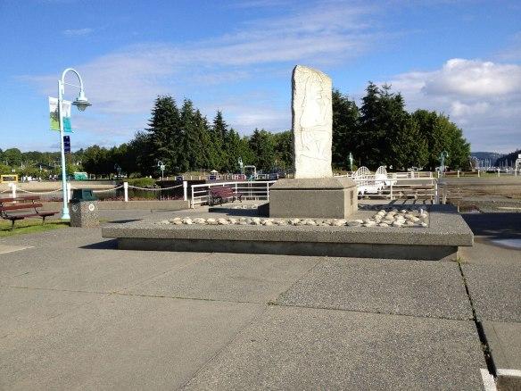 park along nanaimo walkway