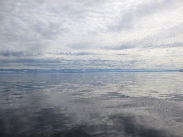 glassy georgia strait