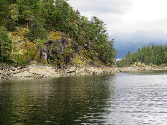 prideaux haven shoreline