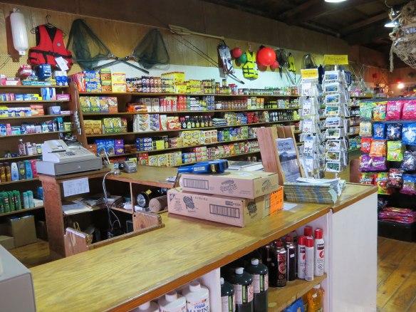 refuge cove store food