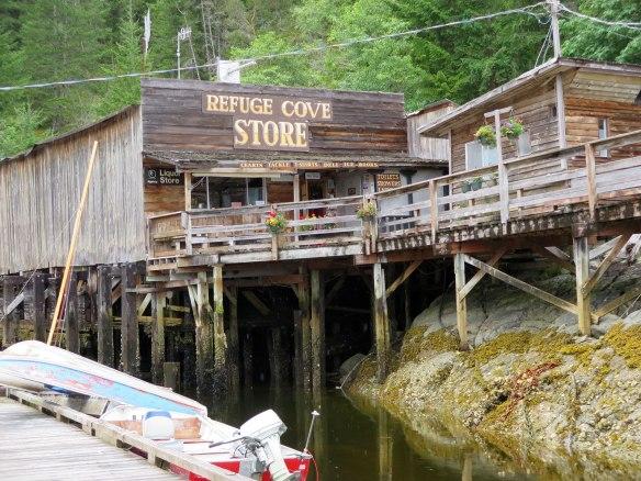 refuge cove exterior