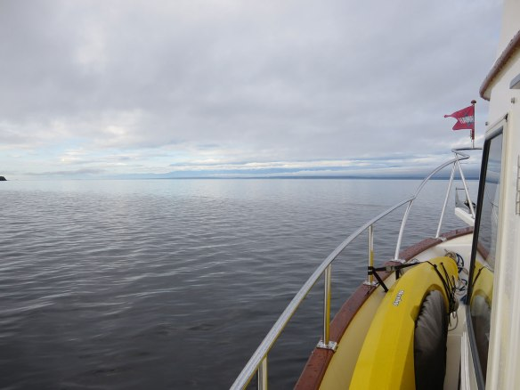 southbound in georgia strait