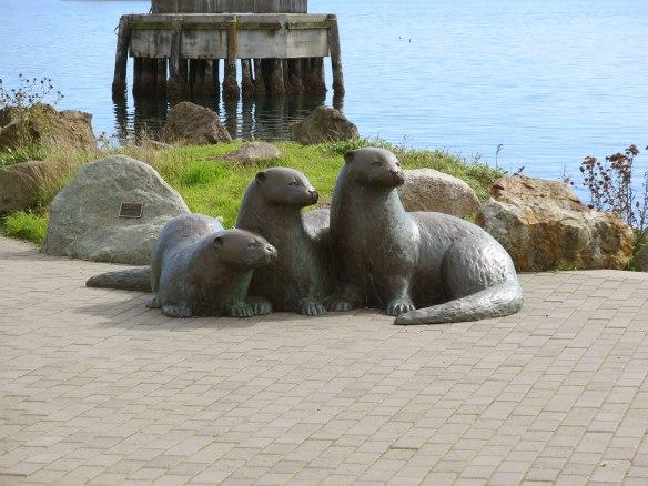 Otter Statue Port Townsend