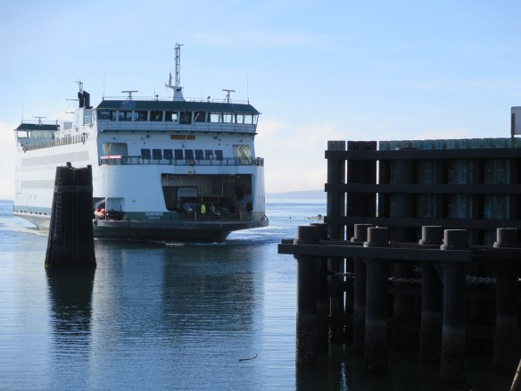 Wash State Ferry at Coupeville