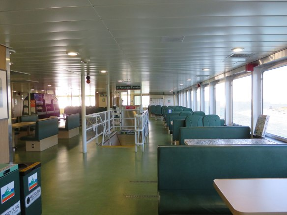 inside Wash State Ferry Kennewick