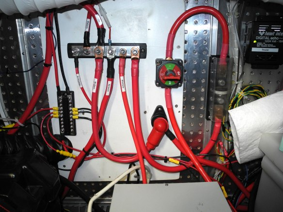 battery positive distribution board