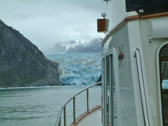 south sawyer glacier, tracy arm, alaska