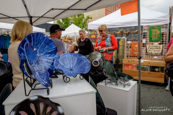 Anacortes Arts Festival - Ceramic Glass Booth