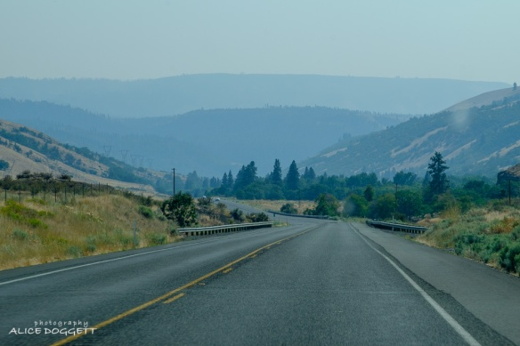 Smoke near Yakima Indian Reservation